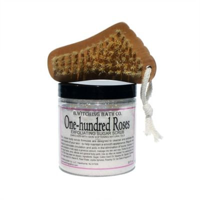 B. Witching Bath Co. One Hundred Roses Sugar Scrub Gift Set