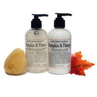 B. Witching Bath Co. Pumpkin and Honey Lotion and Liquid Soap Gift Set