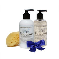 B. Witching Bath Co. First Snow Lotion and Liquid Soap Gift Set