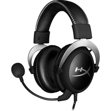 Kingston Technology Co Inc Kingston HyperX CloudX Pro Gaming Headset - Stereo - Black - Mini-phone - Wired - 60 Ohm - 15 Hz - 25 kHz - Over-the-head - Binaural - Circumaural - 6.56 ft Cable