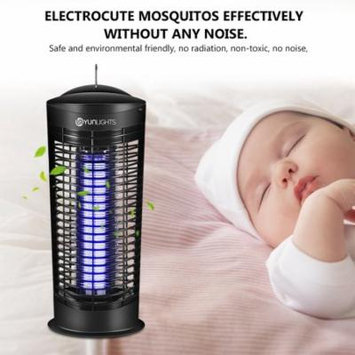 YUNLIGHTS Electric Easy To Clean 11W Mosquito Control Lamp Insect Killer Bug Zapper UVA Lamp