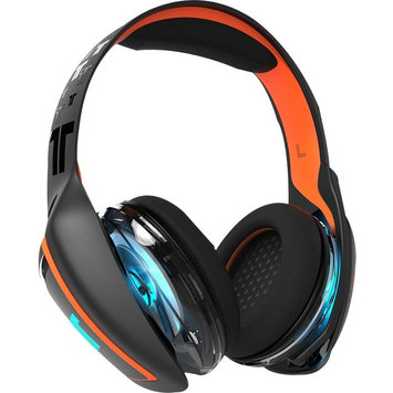 Tritton ARK 100 Headset w/1m Audio Cable - Stereo - Black, Orange - Mini-phone - Wired - 16 Ohm - 20 Hz - 20 kHz - Over-the-head - Binaural - Circumaural - 3.28 ft Cable