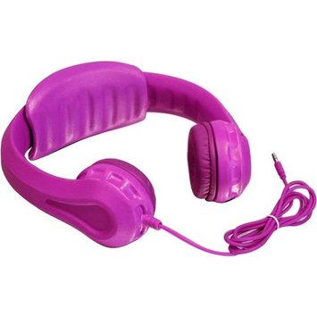 Aluratek Volume Limiting Wired Foam Headphones For Children (Pink) - Stereo - Pink - Mini-phone - Wired - Over-the-head - Binaural - Circumaural