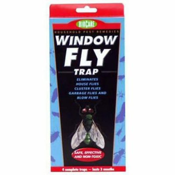 2PK S534 Bio Care Window Fly Trap Set of 4