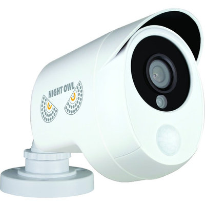 Night Owl CAM-PIRHDA10W-BU 2 Megapixel Surveillance Camera - 1 Pack - Color - 100 ft Night Vision - 1920 x 1080 - 3.60mm - CMOS - Cable