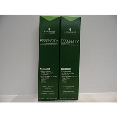 Schwarzkopf Essensity Permanent Hair Color 5-889 (Pack of 2 Boxes)