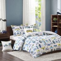 INK+IVY Road Trip 3-Piece Twin Comforter Set in Blue