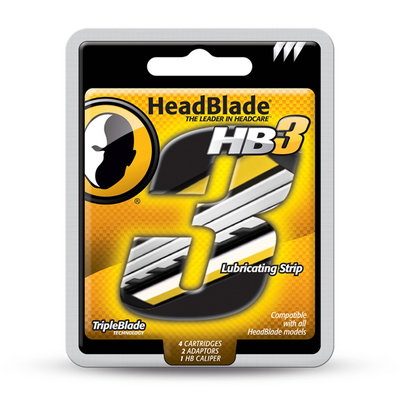 HeadBlade Replacement Triple Blades Kit