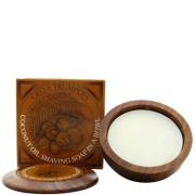 Geo F. Trumper Trumpers Wooden Shave Bowl - Coconut (Sensitive/Dry Skin) (80g)