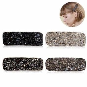 Fascigirl 4PCS Hair Clips Rhinestone Decor Hair Pin Hair Barrette Hair Styling Accessories Birthday Christmas Gift for Girls Women