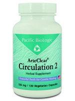 Pacific Biologic ArteClear: Circulation 2 120 vcaps