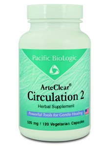 Pacific Biologic ArteClear: Circulation 2 120 vcaps