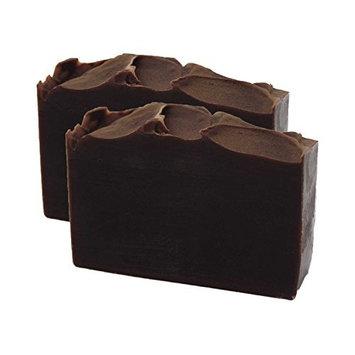 Bourbon Vanilla Handmade Artisan Luxury Gift Soap Bar 2 Pack by Score Soap