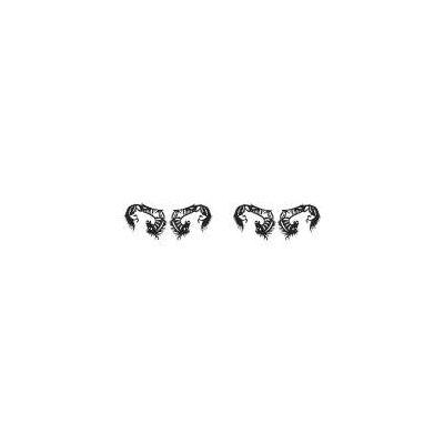 Paperself Small Horses Individual Eyelashes (2 Pairs)