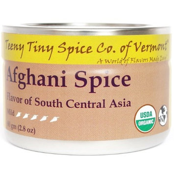Teeny Tiny Spice Co of Vermont Organic Afghani Spice, 2.8 Oz