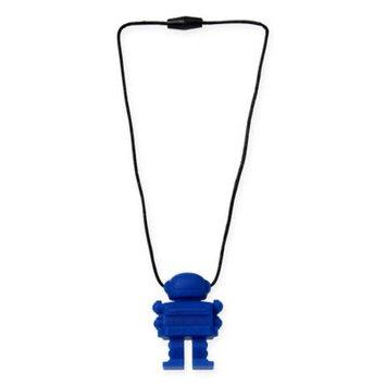 Chewbeads Juniorbeads Astronaut Pendant Necklace in Blue