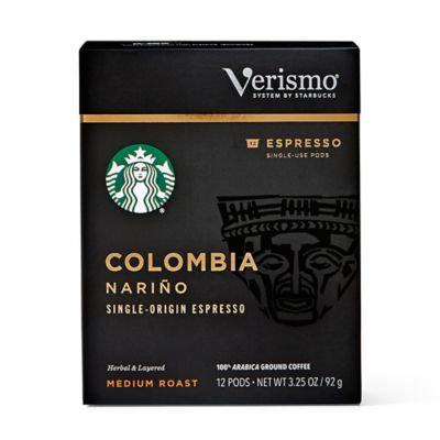 Starbucks® Verismo™ 12-Count Colombia Nariño Single Origin Espresso Pods