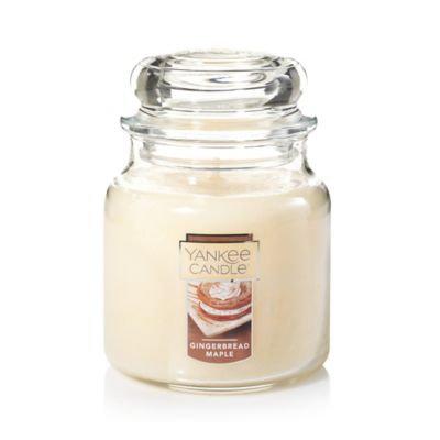 Yankee Candle Gingerbread Maple Medium Jar Candle