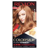 Revlon ColorSilk Buttercream 80/73N Medium Natural Blonde Haircolor, 1 application