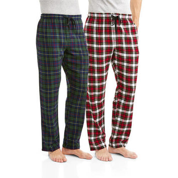 Big Men's 2-Pack Flannel Sleep Pant