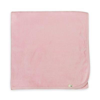 Burt`s Bees Burt's Bees Baby Organic Velour Stroller Blanket, Pink