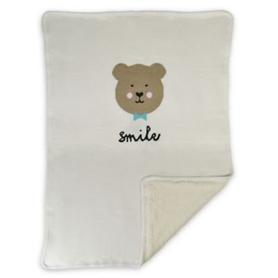 Hello Spud Smile Bear Blanket