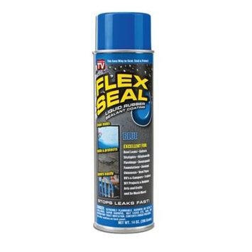 Flex Seal® 14 oz. Liquid Rubber Sealant in Blue (2-Pack)
