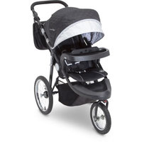 Delta J is for Jeep® Cross Country Sport Plus Jogger Stroller in Charcoal