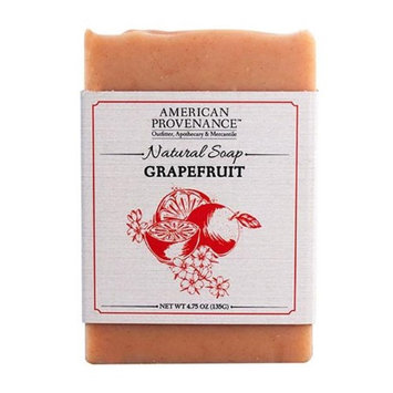 American Provenance 232443 4.75 oz Family Grapefruit Natural Bar Soap - 6 Bars