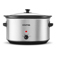 Pro Chef PC850 8.5-Quart Oval Slow Cooker, Stainless steel