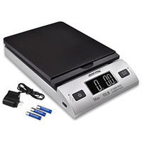 Accuteck S 50 lb x 0.2 oz All-In-One Digital Shipping Postal Scale with AC Postage (W-8250-50BS)