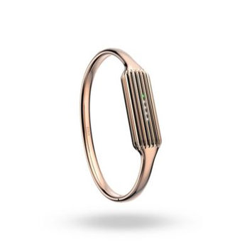 Fitbit Flex 2 Bangle - Rose Gold, Large by Fitbit