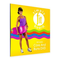 Simply Fit Board® Core & Buns DVD