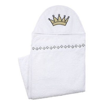 Kushies Baby A36500 Hooded Towel WHITE