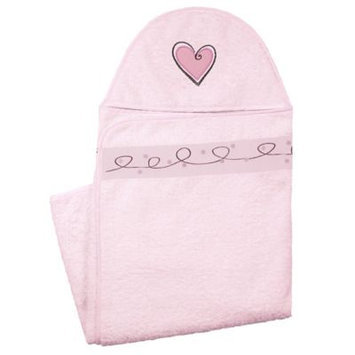 Kushies Baby A36505 Hooded Towel PINK