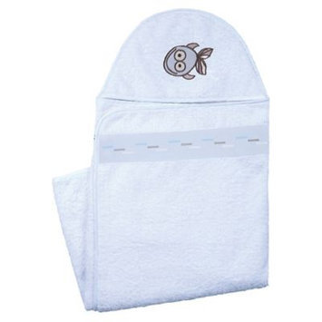 Kushies Baby A36509 Hooded Towel BLUE