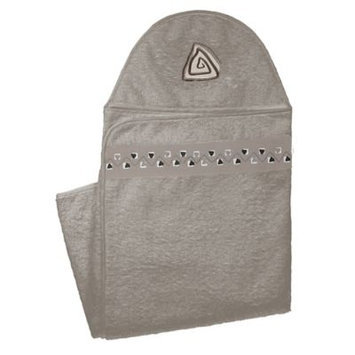 Kushies Hooded Towel - Mocha