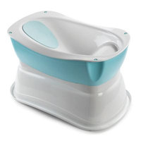 Summer Infant Deluxe Right Height Bath Tub - Neutral
