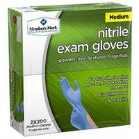 Member's Mark Nitrile Exam Gloves (Medium)