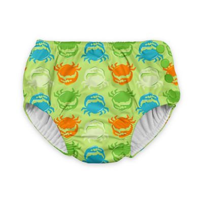i play.® Crab Size 6M Ultimate Swim Diaper in Light Green