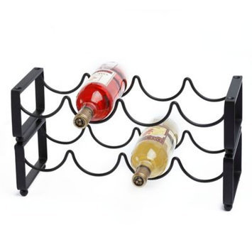 Old Dutch 4-bottle Stackable Wine Rack (Set of 2)