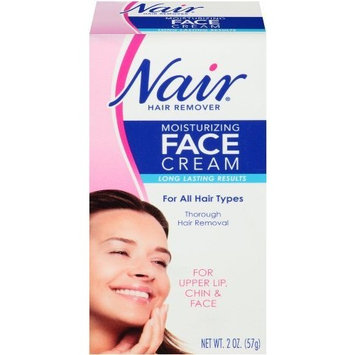 Nair Hair Remover Moisturizing Face Cream ( For Smooth Radiant Skin) 2oz.(57g) by Nair