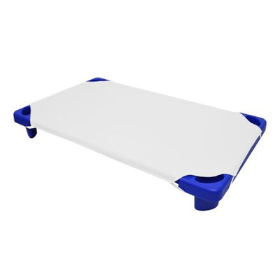 American Baby Company Cotton-Polyester Blend, Toddler Size Day Care Cot Sheet, White, 23