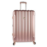 Travelers Club Traveler's Club Kensie 3-Piece Metallic Hardside Verticals Collection - Rose gold