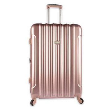 Travelers Club Traveler's Club Kensie 3-Piece Metallic Hardside Verticals Collection - Rose gold