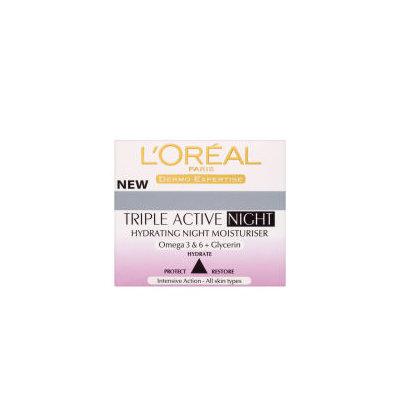 Skinceuticals L'Oreal Paris Dermo Expertise Triple Active Hydrating Night Moisturiser (50ml)