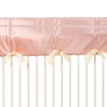 Glenna Jean Convertible Crib Rail Protector - Short (Set of 2) (Pink) - Anastas