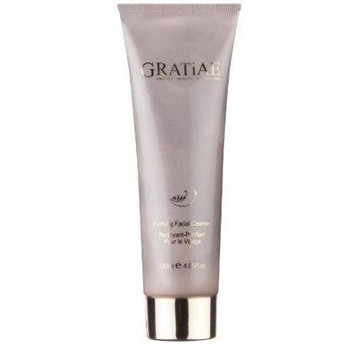 Gratiae Organics Purifying Facial Cleanser Gel, 4.05-Ounce