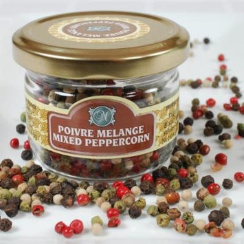 French Dried Peppercorns - Mixed - 1 x 1.0 lb