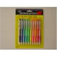 TAPE IT 351834 Ball Point Pens 10 Pack Case of 48